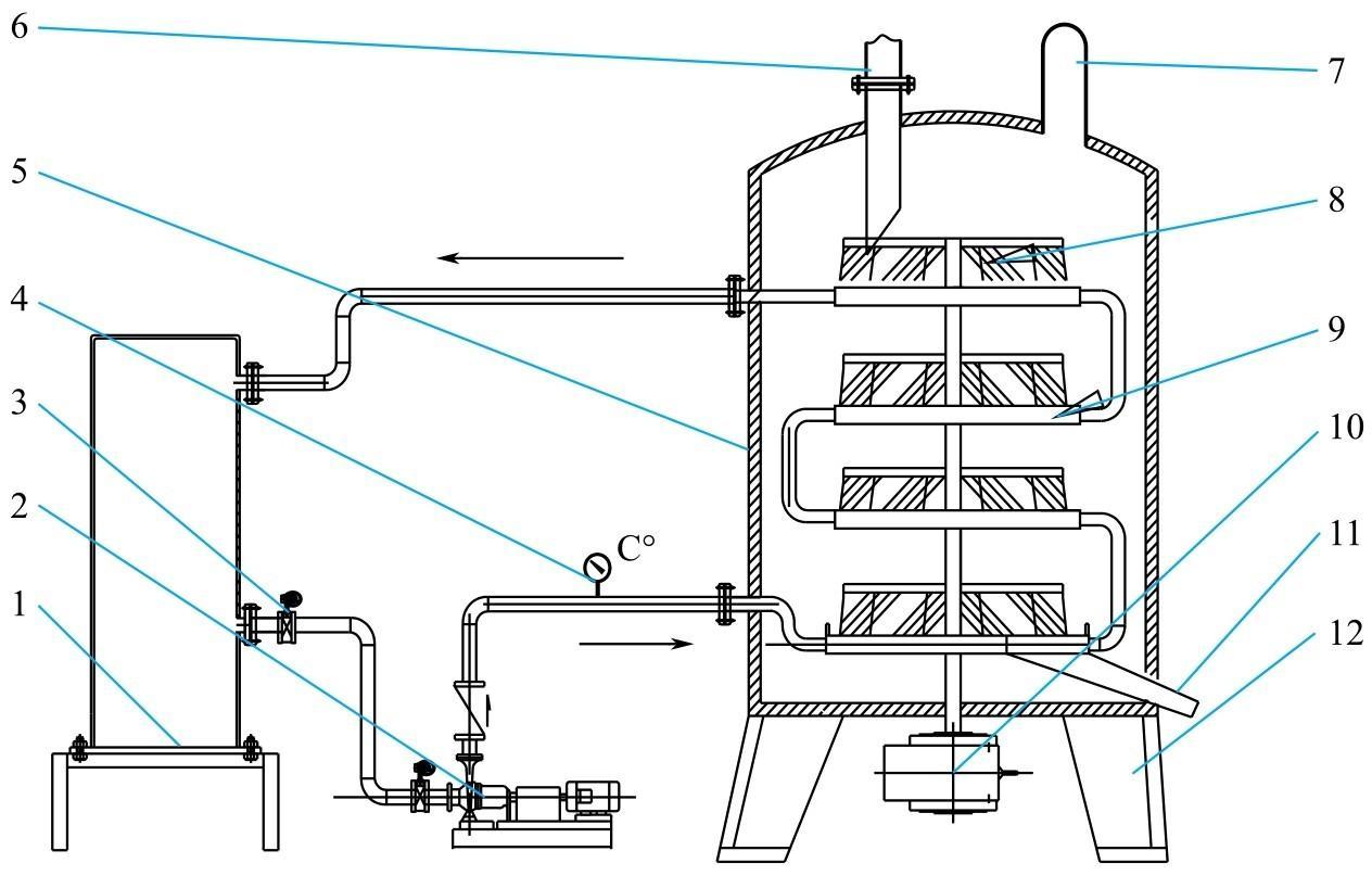 盘式干燥器结构图