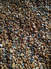 宝桢干式磨料/核桃粒研磨料/干抛石的图片