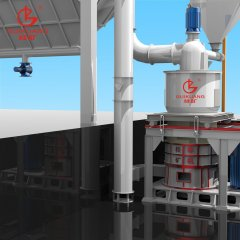 HCH大型环辊磨粉设备微细粉矿石磨粉机