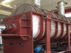 含水粘性菌渣空心桨叶干燥机KJG-140的图片