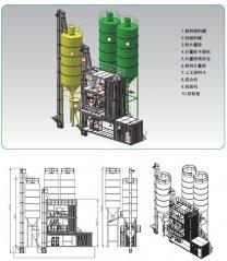 AJC-5A 集装箱式特种砂浆生产设备的图片