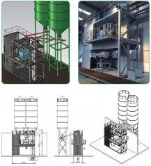 AJC-5B 集装箱式特种砂浆生产设备的图片