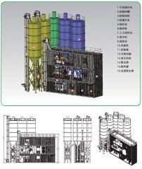 AJF-8B 集装箱式特种砂浆生产设备的图片
