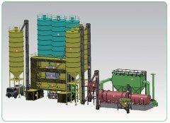 AJP-20 集装箱式普通砂浆生产设备的图片