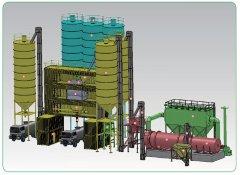 AJP-30 集装箱式普通砂浆生产设备的图片