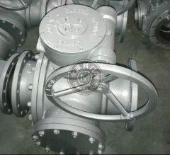 Q345F T型铸钢三通球阀