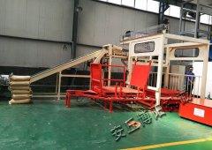 磷肥全自动码垛机非标制作,自动堆垛机设备厂的图片