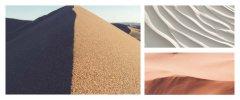 中档石英砂的图片