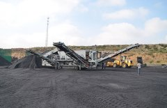 石料生产线移动式破碎机 砂石料场生产线设备的图片