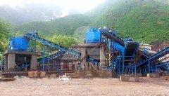 石料石头破碎机出料 制砂生产线砂石骨料设备的图片