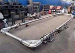 镍粉不锈钢管链机、白土管链输送机无尘环保