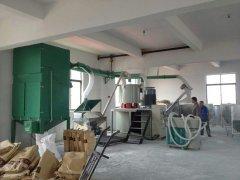 高速混合机组除尘系统 PVC树脂粉集中供料系统