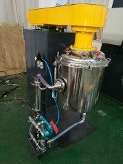 新立式搅拌磨 搅拌机 立磨机的图片