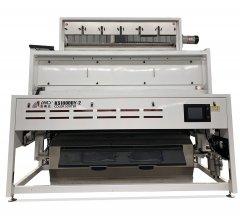 国内首发  中科光电双层干选矿石色选机 高产量 解决高灰尘难题的图片