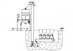 LCS自动配方肥生产包装线的图片