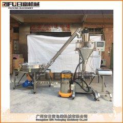 RF-GEF50C半自动粉剂灌装机(带吸尘器)的图片