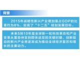 """图解:""""十三五""""国家战略性新兴产业发展规划"""