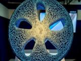 米其林展示3D打印轮胎 不用充气寿命更长