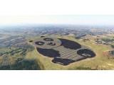 """中国建全球首座熊猫外型光伏电站,单晶体硅""""电力十足"""""""