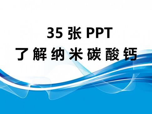 35张PPT了解纳米碳酸钙