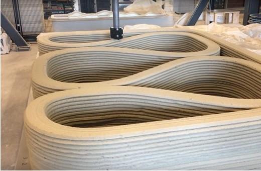 用3D打印造桥 更环保使用更少混凝土