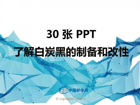 30页PPT了解白炭黑的制备和改性