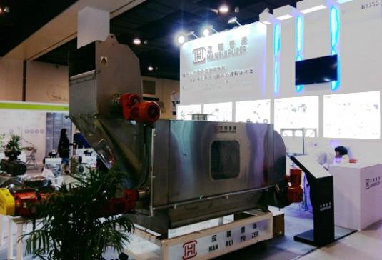 汉瑞普泽全自动拆包机将亮相IPB2017上海粉体展