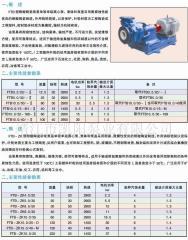 FTB,FTB-ZK型耐酸耐磨陶瓷泵