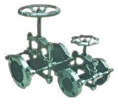 GJX型支架式管夹阀
