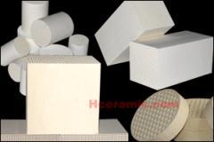 微波蜂窝陶瓷干燥定型样品