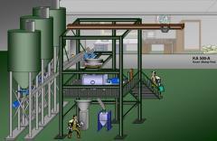 佛莱 FREI KA轻灵型建筑干粉生产线的图片