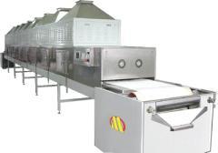 连续微波化工粉烘干设备
