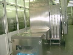 微波70KW三层隧道式干燥设备