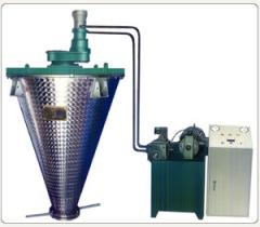 DLH—Ⅱ型液压传动多角变距锥形混合机的图片