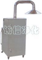 不锈钢移动式除尘器,卧式捕尘器