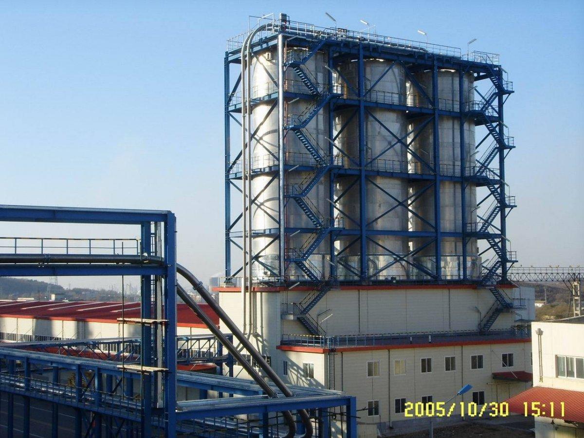 HDPE装置粉料、粒料输送系统的图片