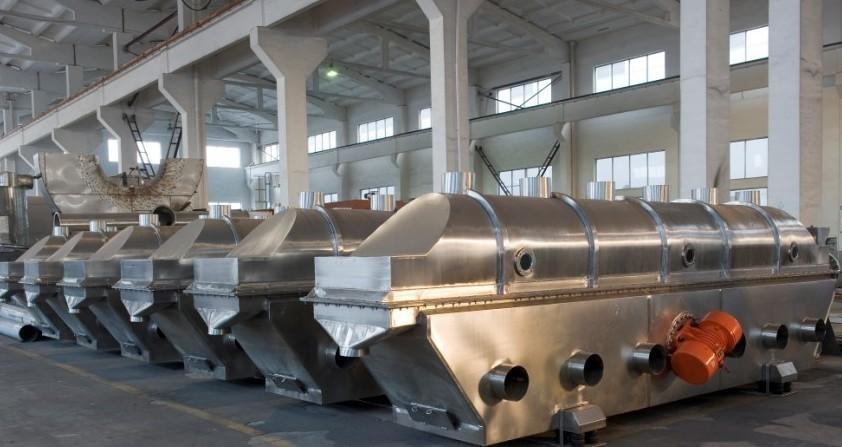振动流化床干燥机下床体技术协议图片