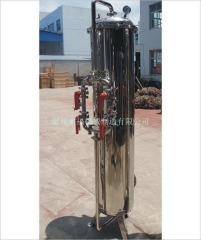3吨/小时不锈钢活性炭过滤器