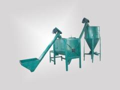 手动卧式干粉砂浆设备