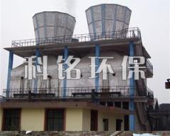 小型焦化厂喷淋式脱硫水膜除尘器