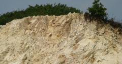 钠长石矿山