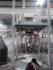 茶粉输送配混吨袋包装机的图片