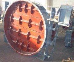 BDTW-0.5S百叶式自动双路气流调节阀
