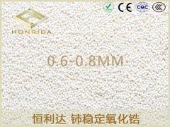 铈稳定氧化锆珠0.6-0.8MM