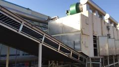 槟榔三层网带式连续干燥机