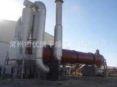 2t/h 印染污泥回转圆筒干燥设备参数