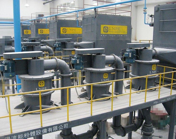 多级串联气流分级机的图片