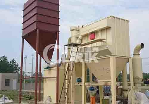 石榴石超细微粉磨粉机设备图片
