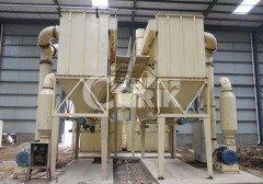 石灰石磨粉机生产线