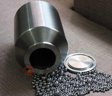 滚筒不锈钢球磨罐  滚筒磨罐图片